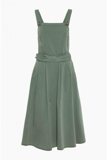7aa99b77bca For added definition, this sleeveless dress is finished with bow-tie detail  falling into an elegant skater style skirt.