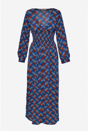 0f330ac91e7 This quirky maxi dress can be paired with ankle boots for a casual yet cool  look