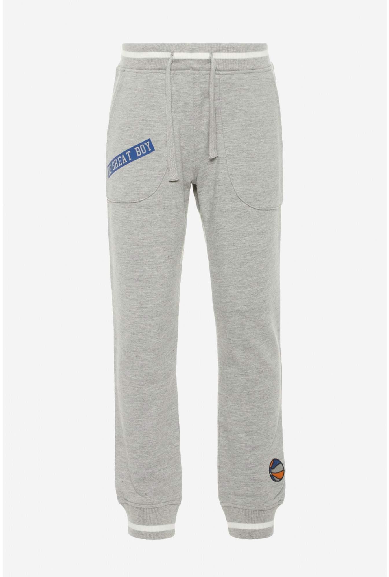 d1bd97e41db9 Name It Nadir Boys Sweat Pants in Grey