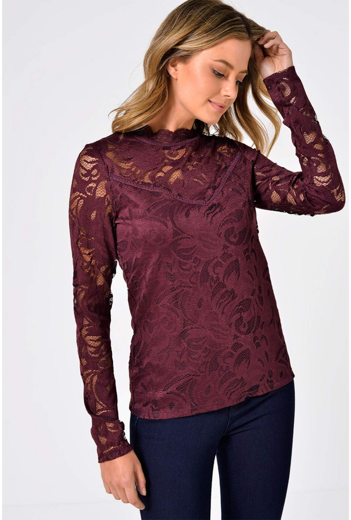 0e4074072a01c More Views. Stasia Lace Top ...