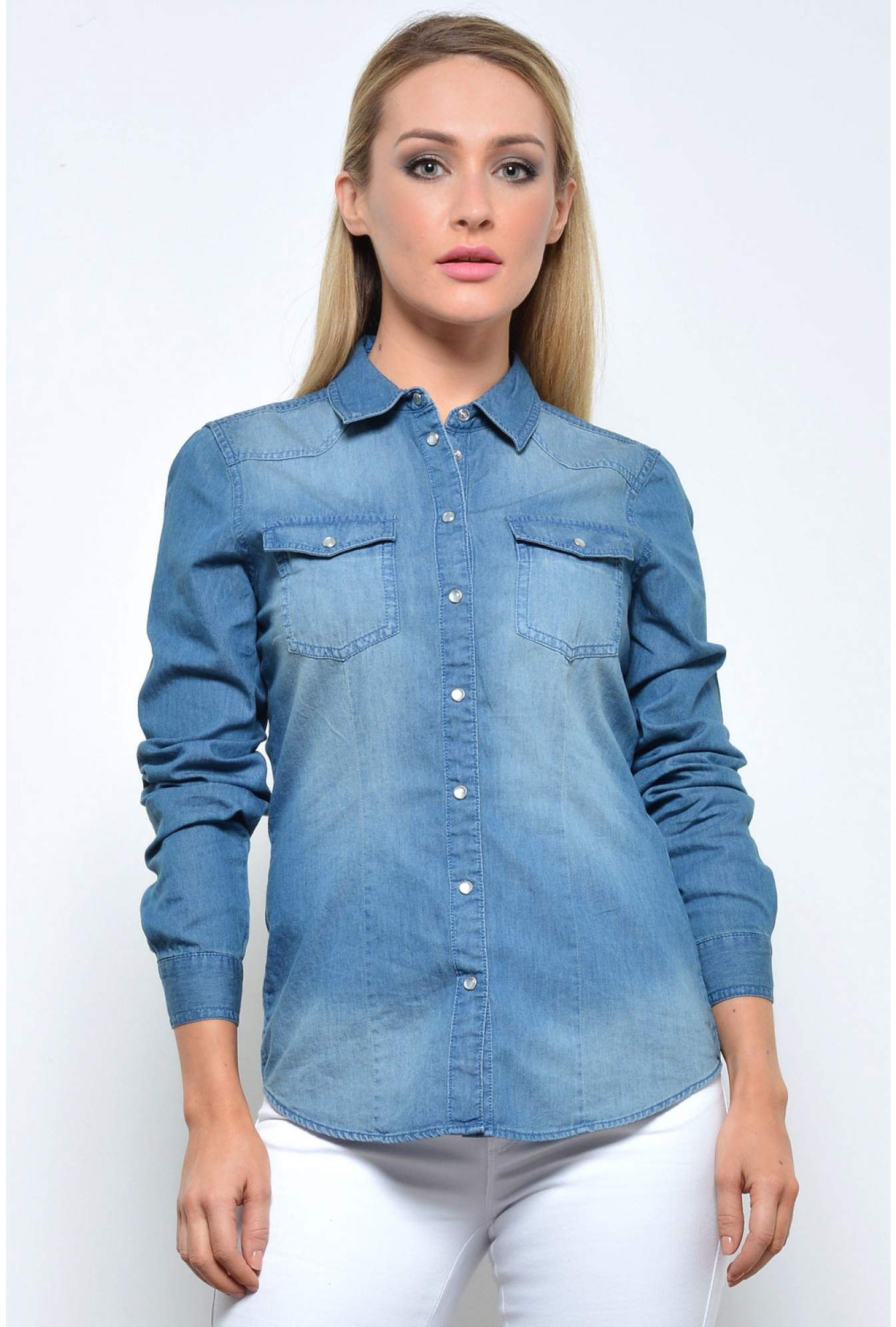 bf430474426 More Views. Always Rock it Denim Shirt in Dark Blue