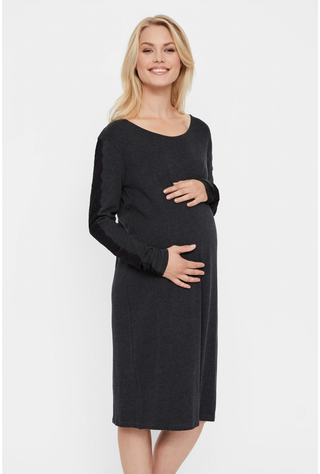 b93086faf974 Mamalicious Ange Maternity Jersey Dress | iCLOTHING