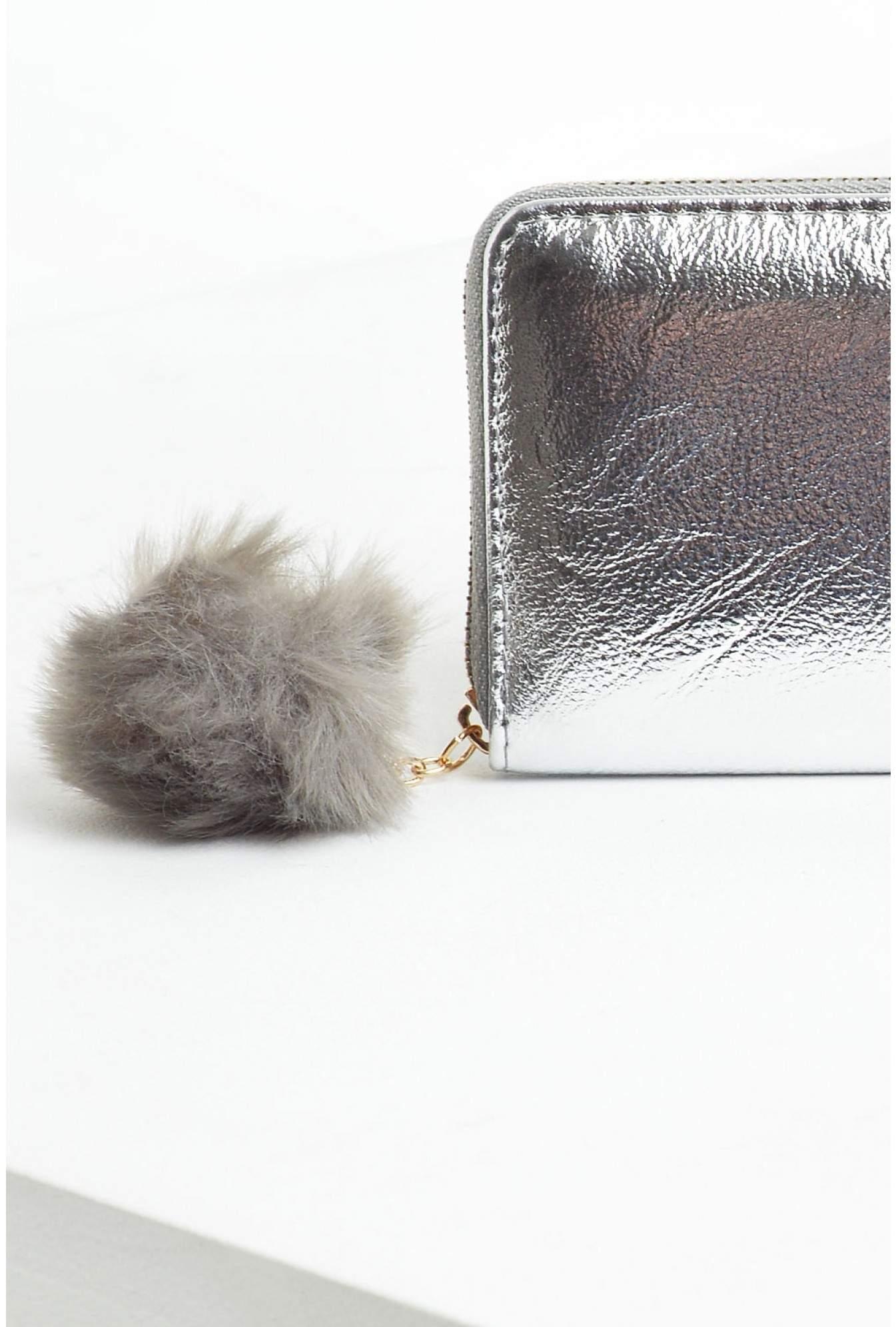 1858175af0 More Views. Martina Pompom Wallet in Silver