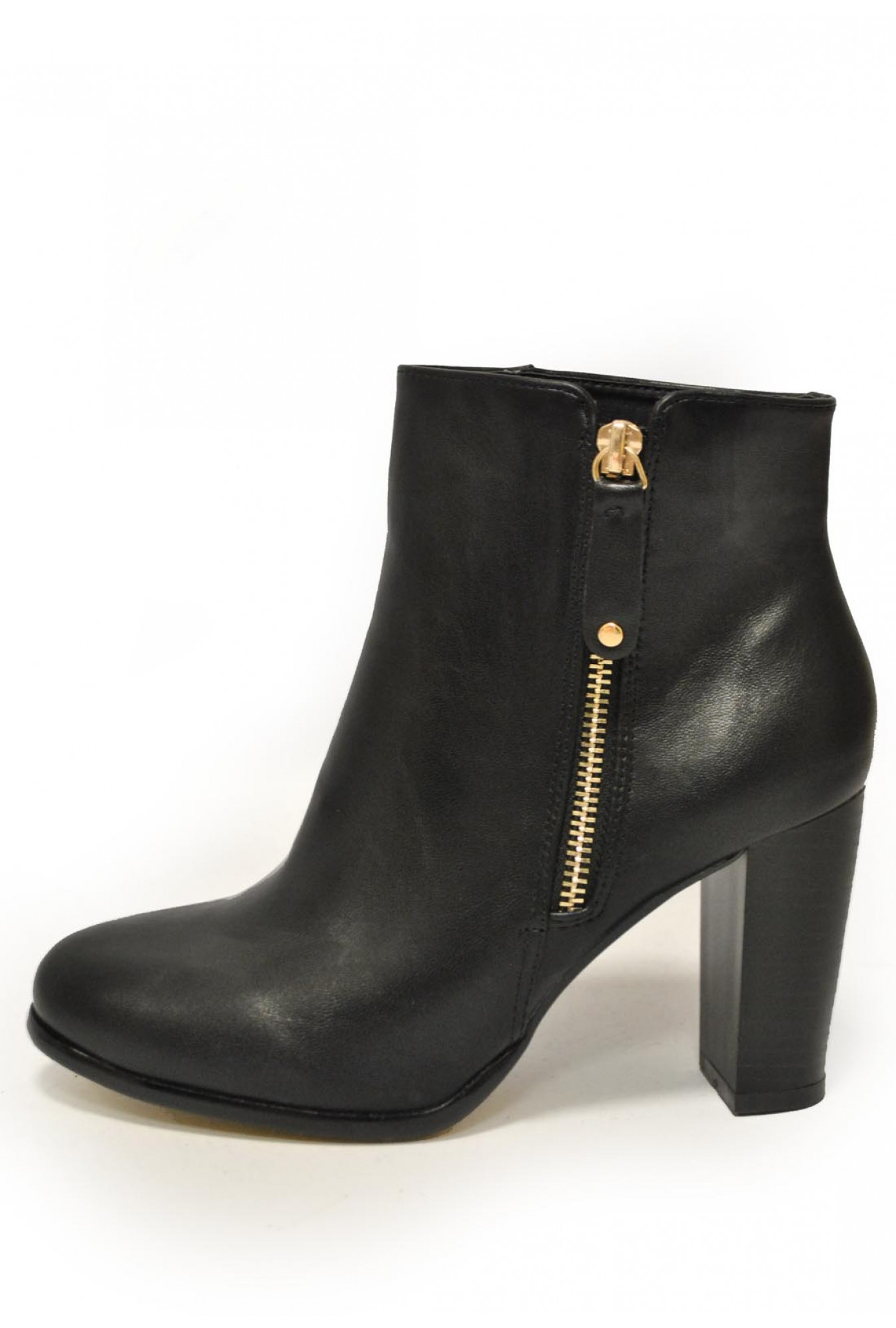 27f244f76a3 More Views. Adeline Zip Ankle Boots in Black