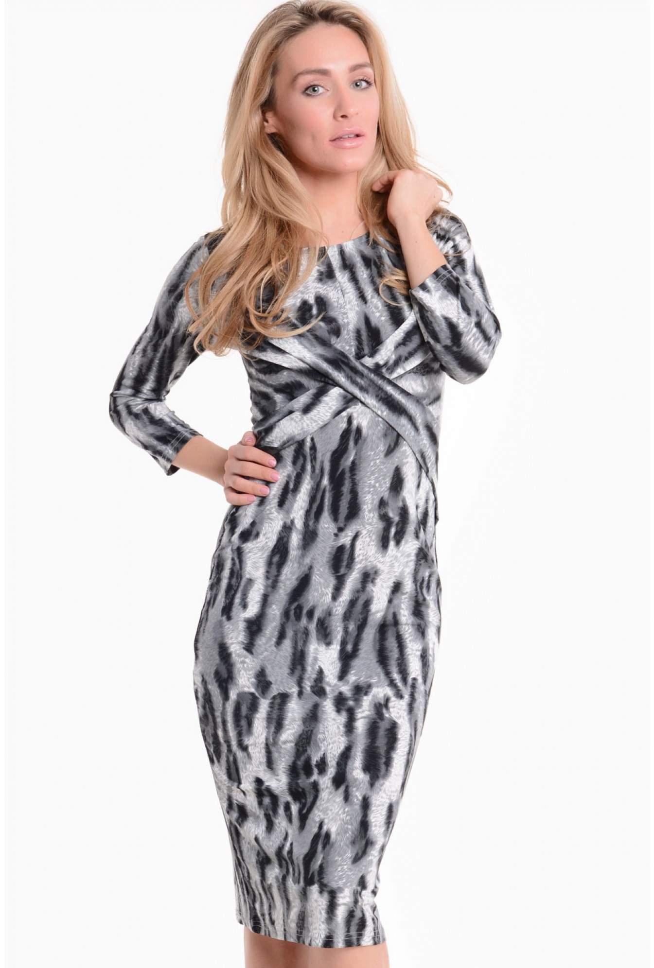 acf1667fb840d Stella Joyce Animal Print Bodycon Dress | iCLOTHING