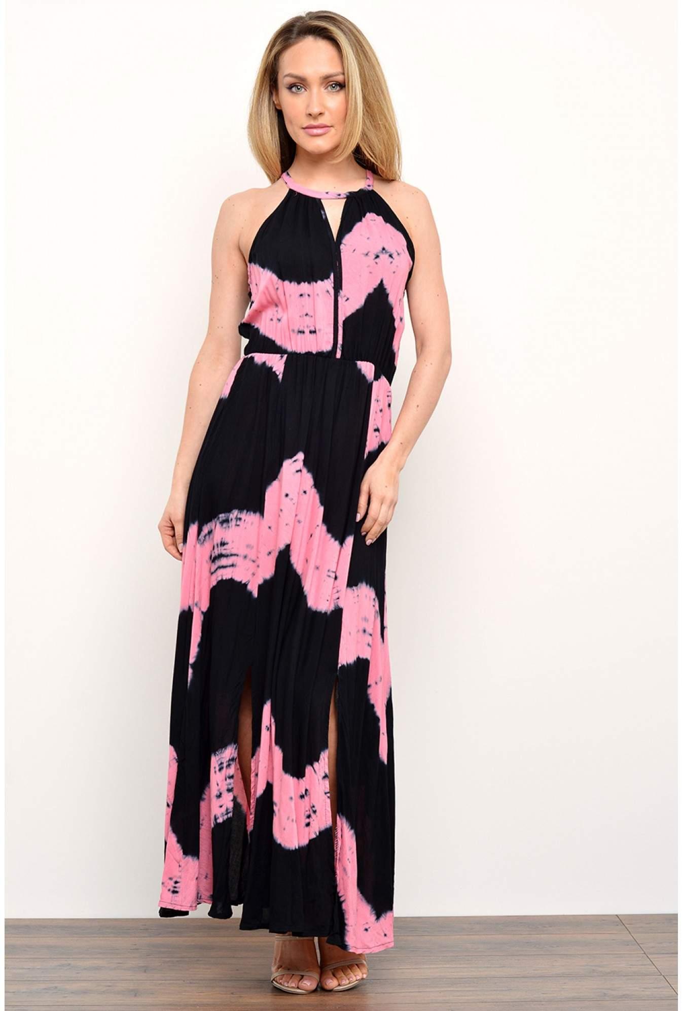 d6b31128508 More Views. Nana Tie Dye Print Maxi Dress