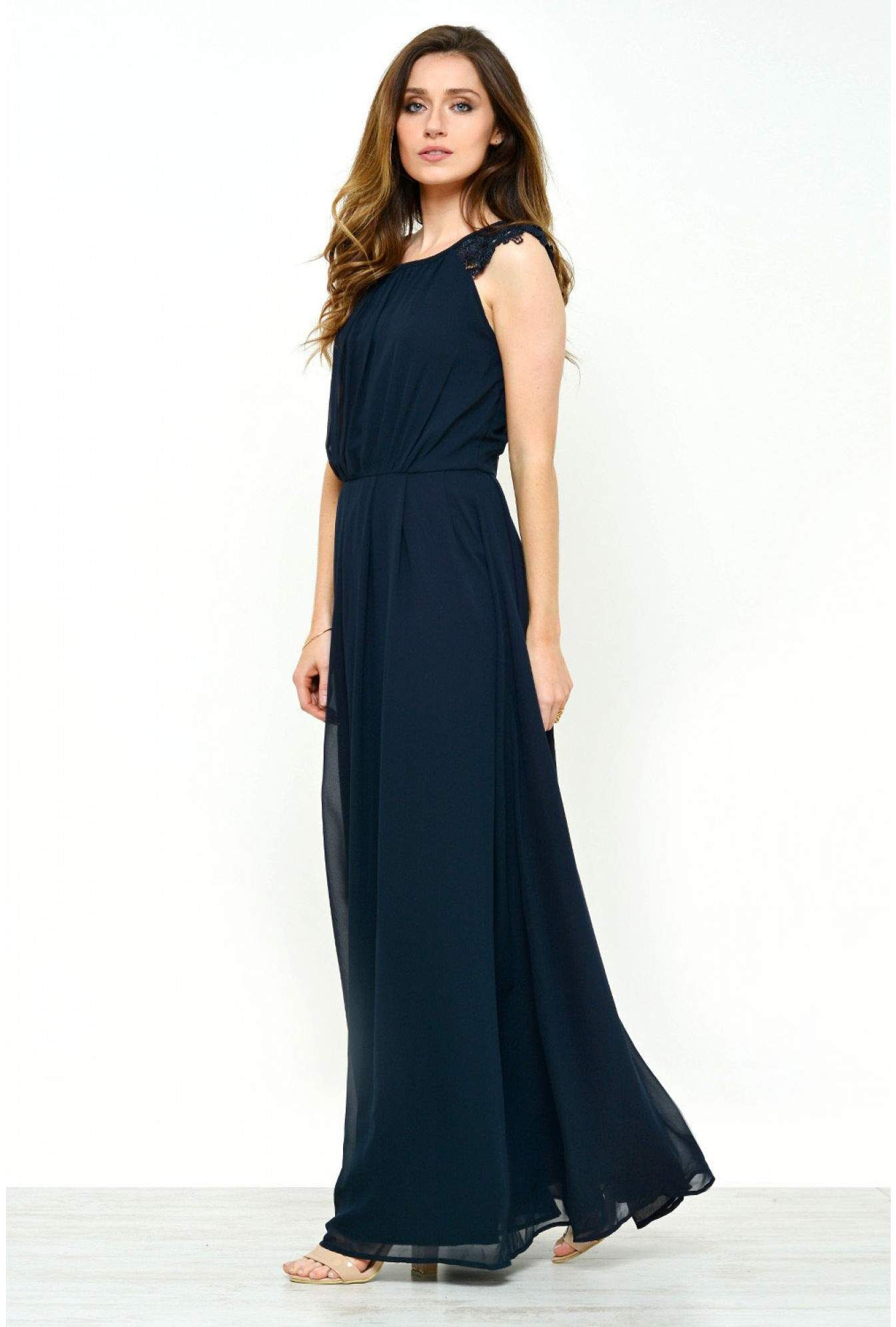 f378750f59c More Views. Claire Chiffon Maxi Dress in Navy. AX Paris