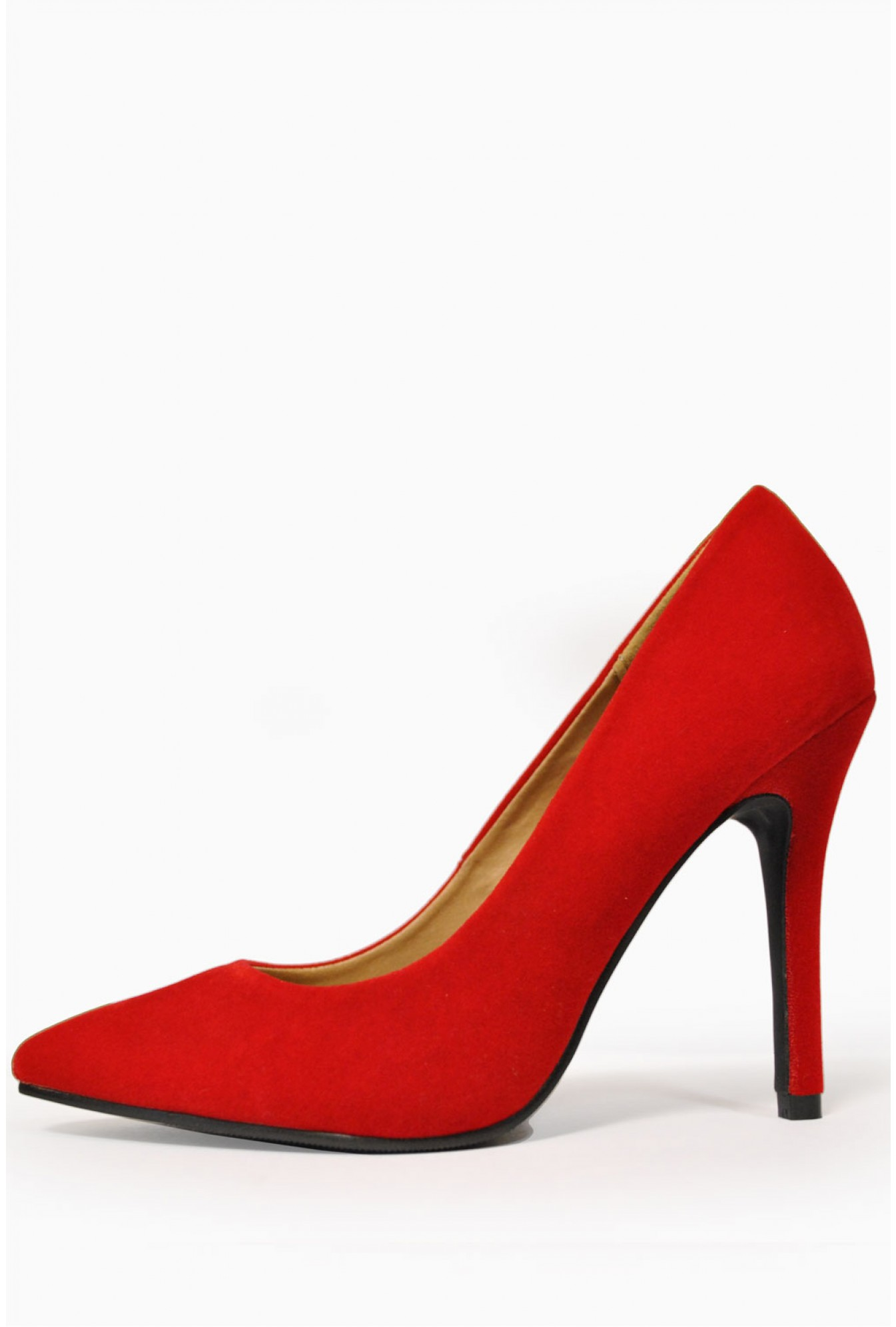 621043f9b9a Debbie Pointed Court Shoes in Red