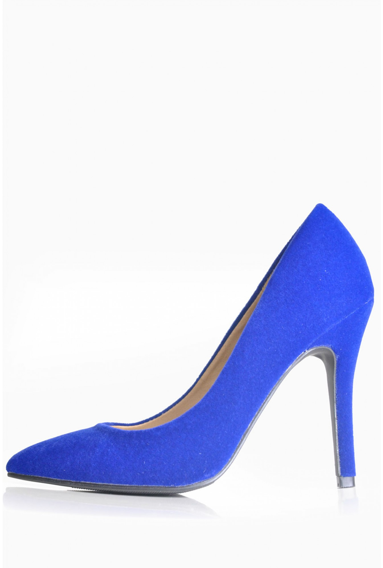 e054f3eb588 Debbie Pointed Court Shoes in Cobalt Blue