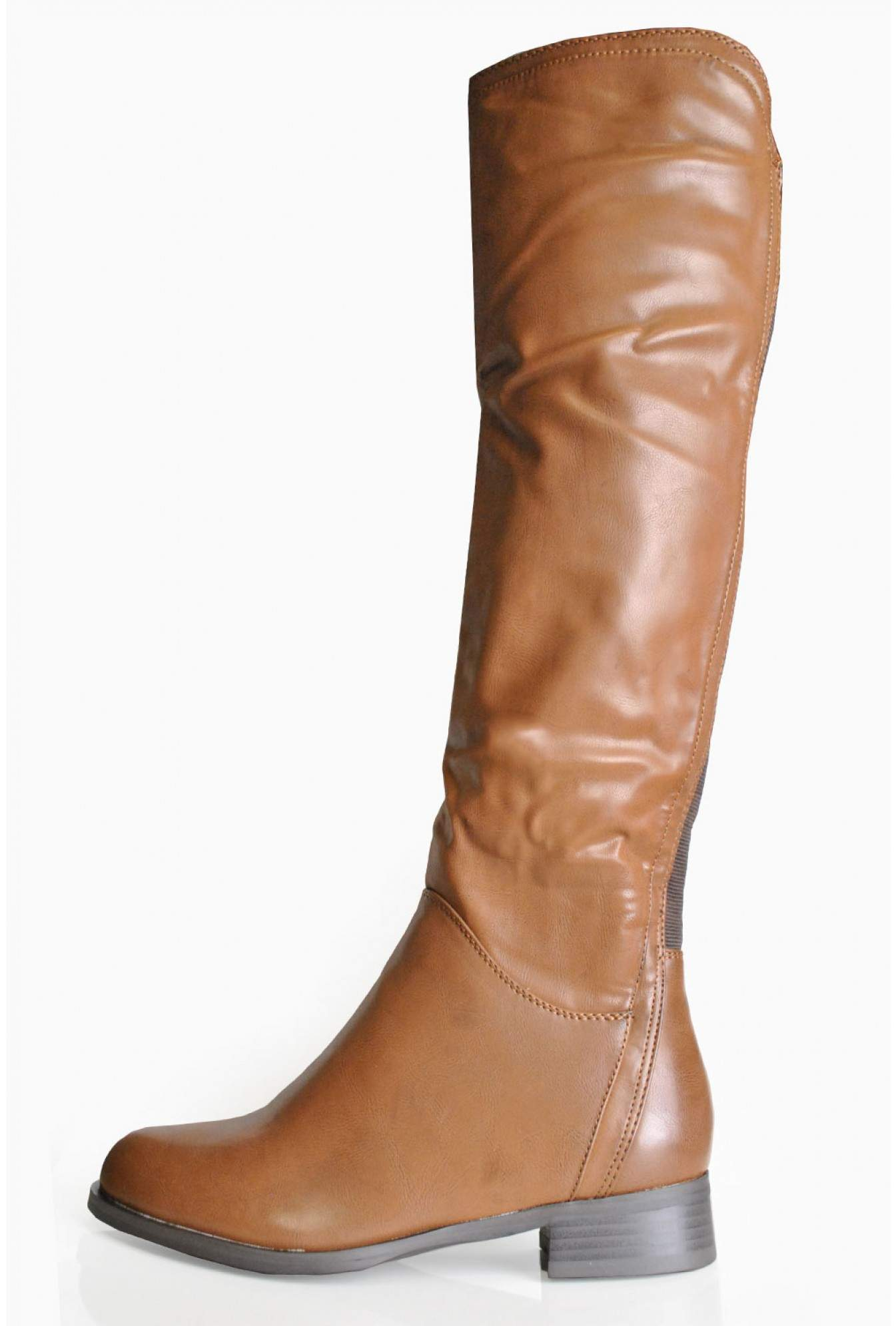 2439f8f1 Lena Over The Knee Boots in Brown