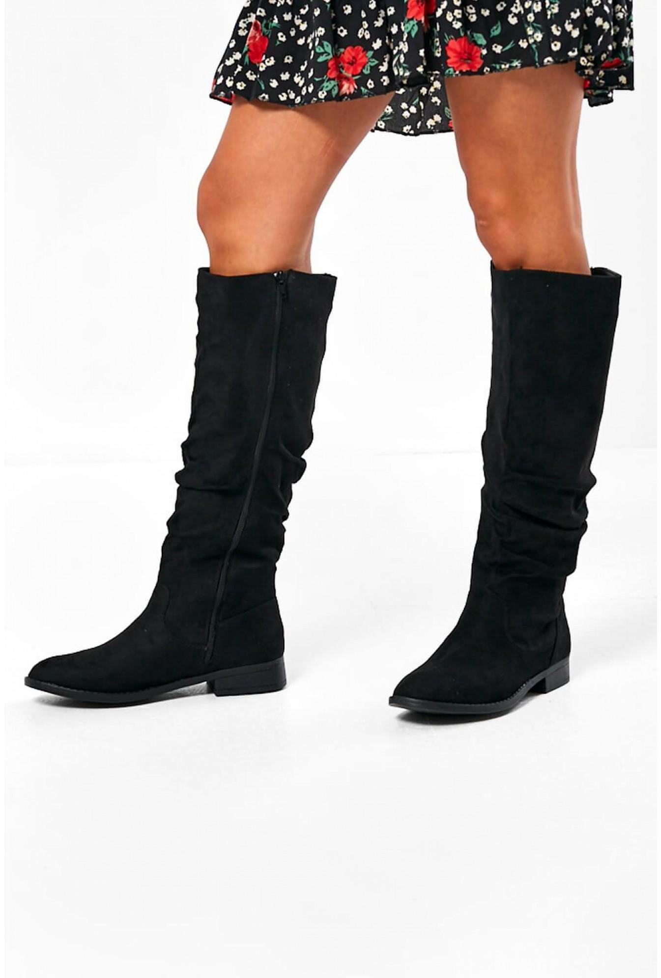 Ellie Flat Knee High Boots