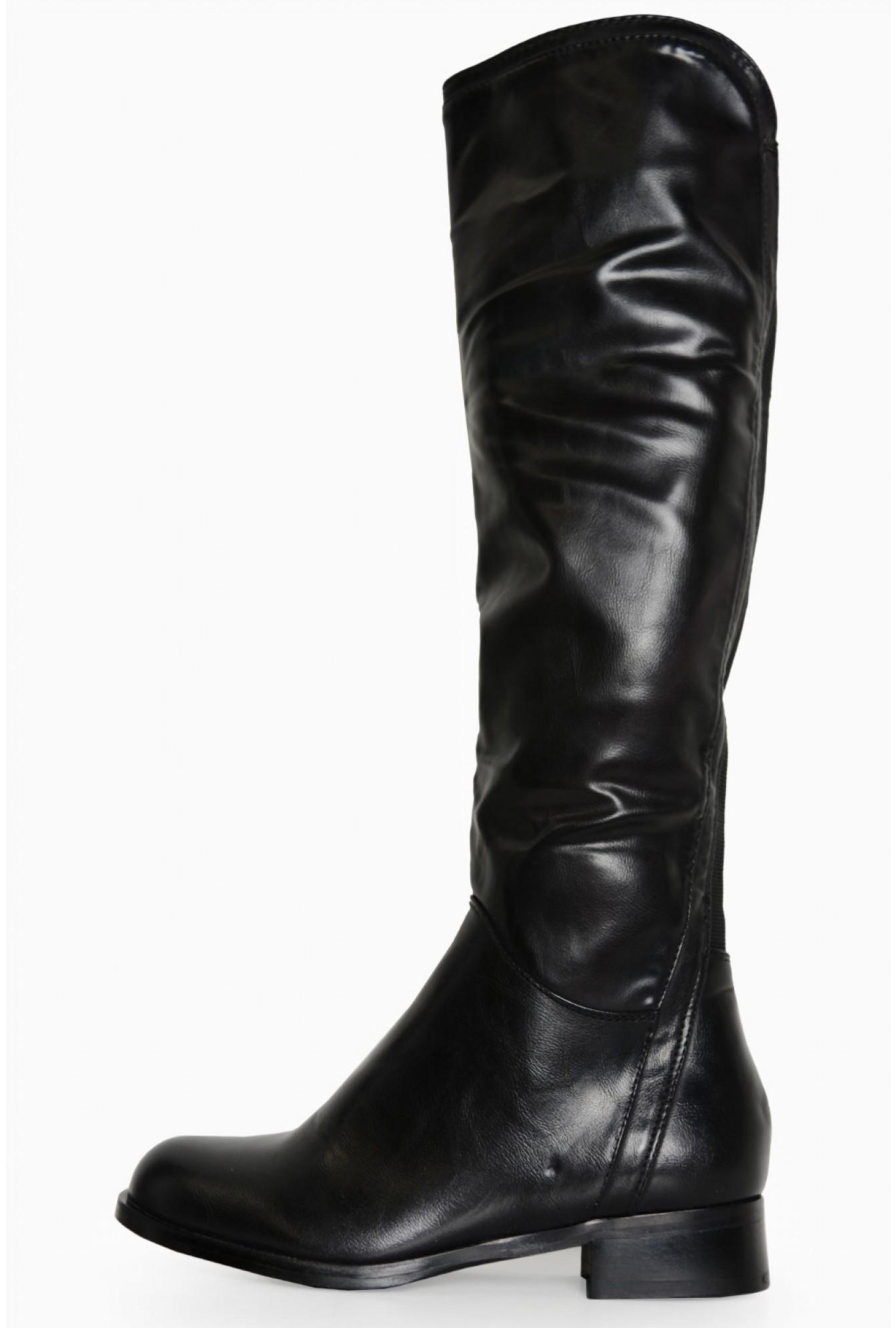 67847af3 Lena Over The Knee Boots in Black