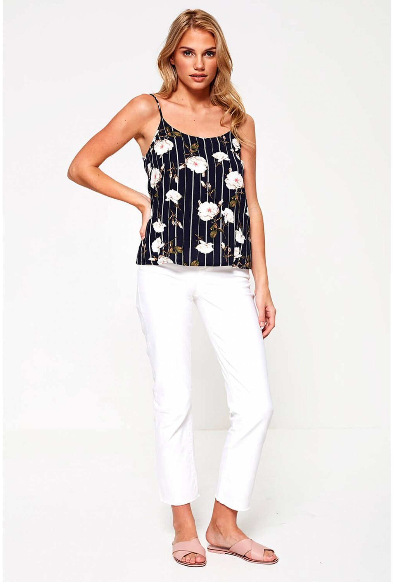 c803d3e70a7 More Views. Simply Floral Print Cami ...