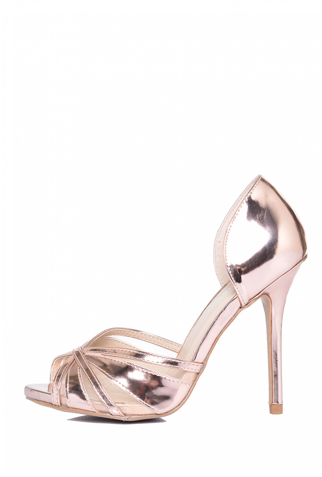 881956909cbd77 More Views. Margo Patent Sandal in Rose Gold. Glamorous
