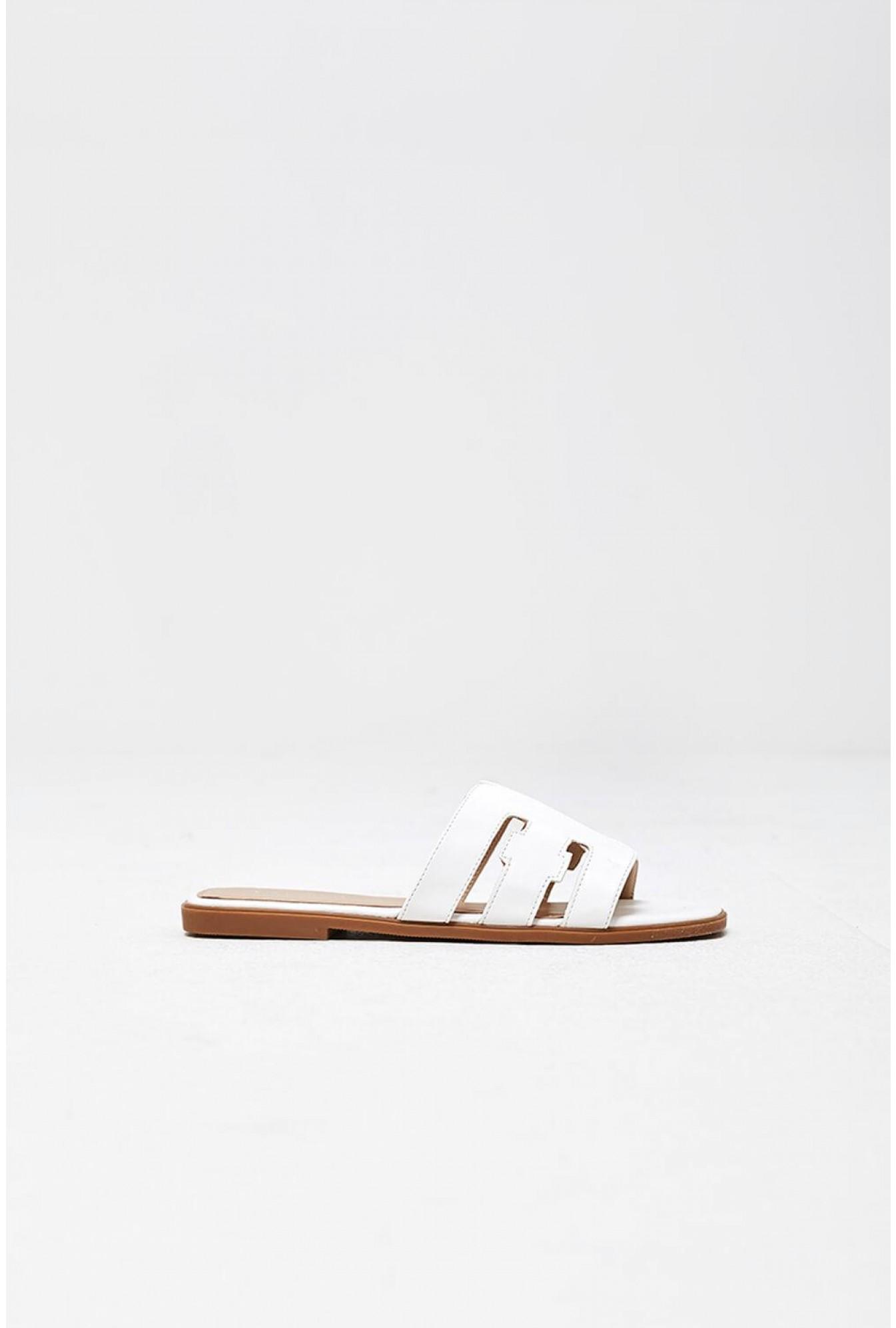 a3e822513 More views lucila flat sandals in white jpg 1345x1992 White flat sandals