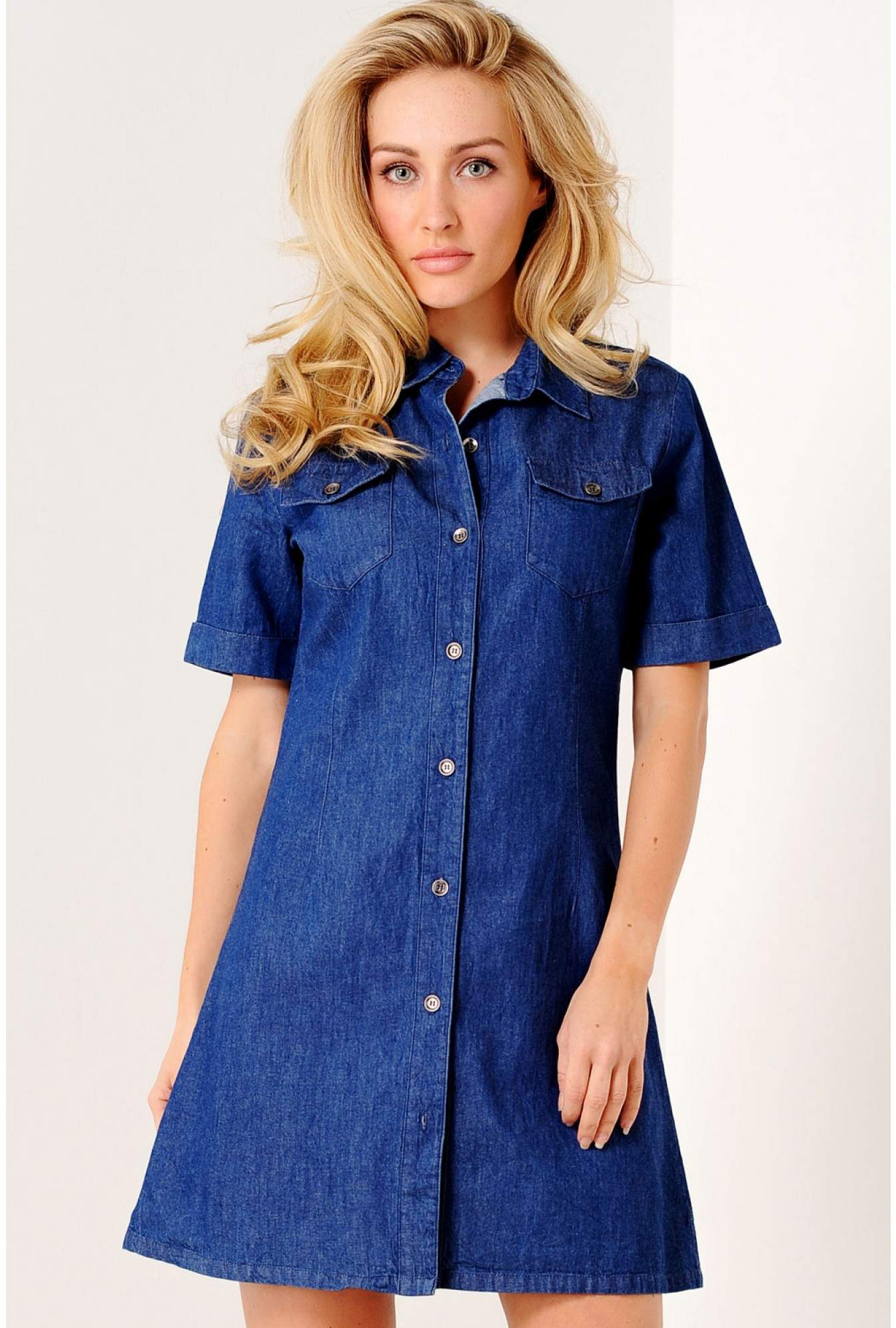 c604e9d1338 More Views. Jordan Denim Shirt Dress