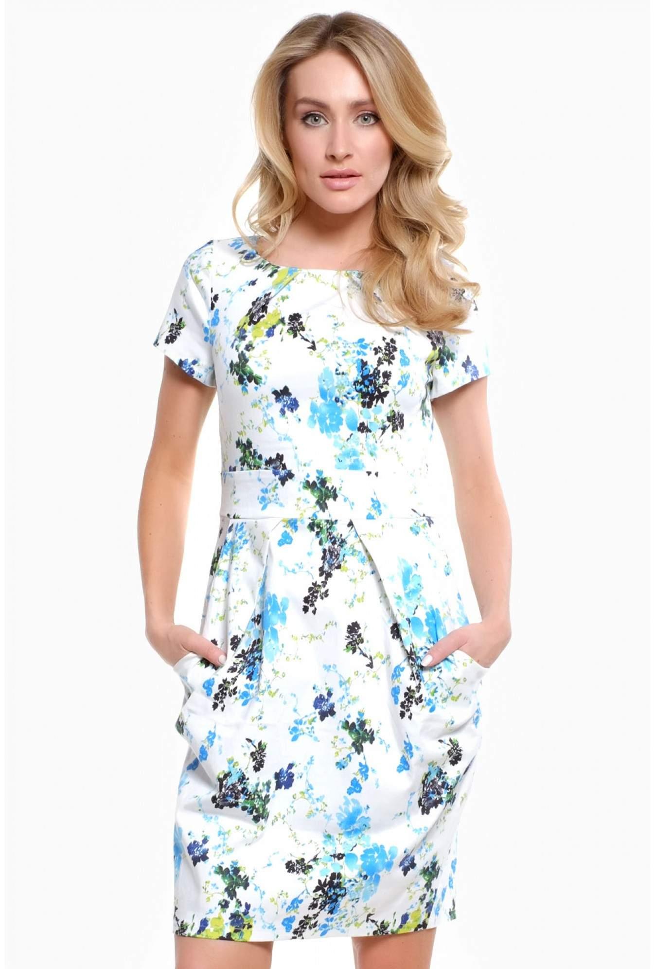 9effc6eca4d iCLOTHING Chloe Floral Print Tulip Dress | iCLOTHING