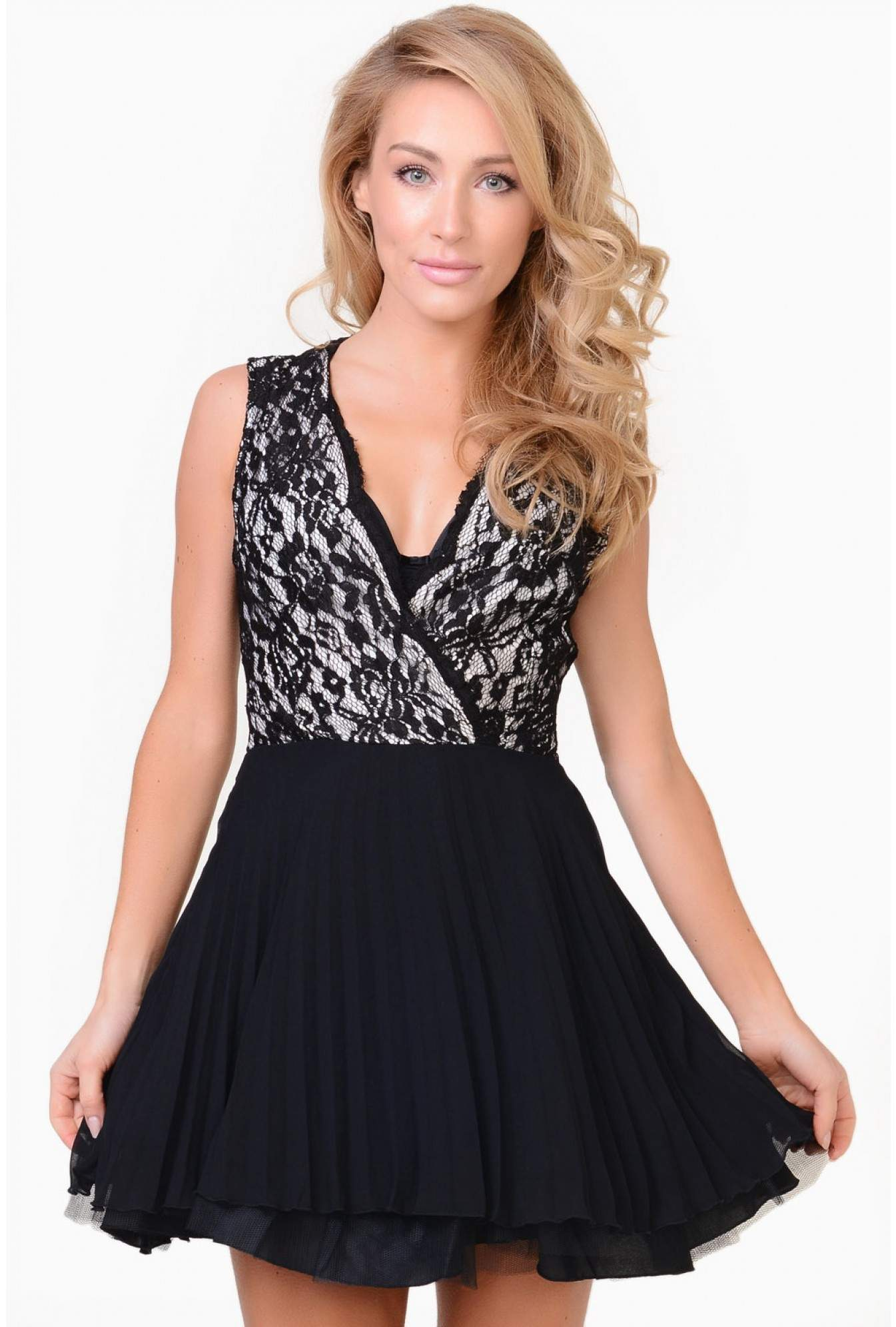 550415a5de More Views. Jesse Lace Kick Out Skater Dress. AX Paris