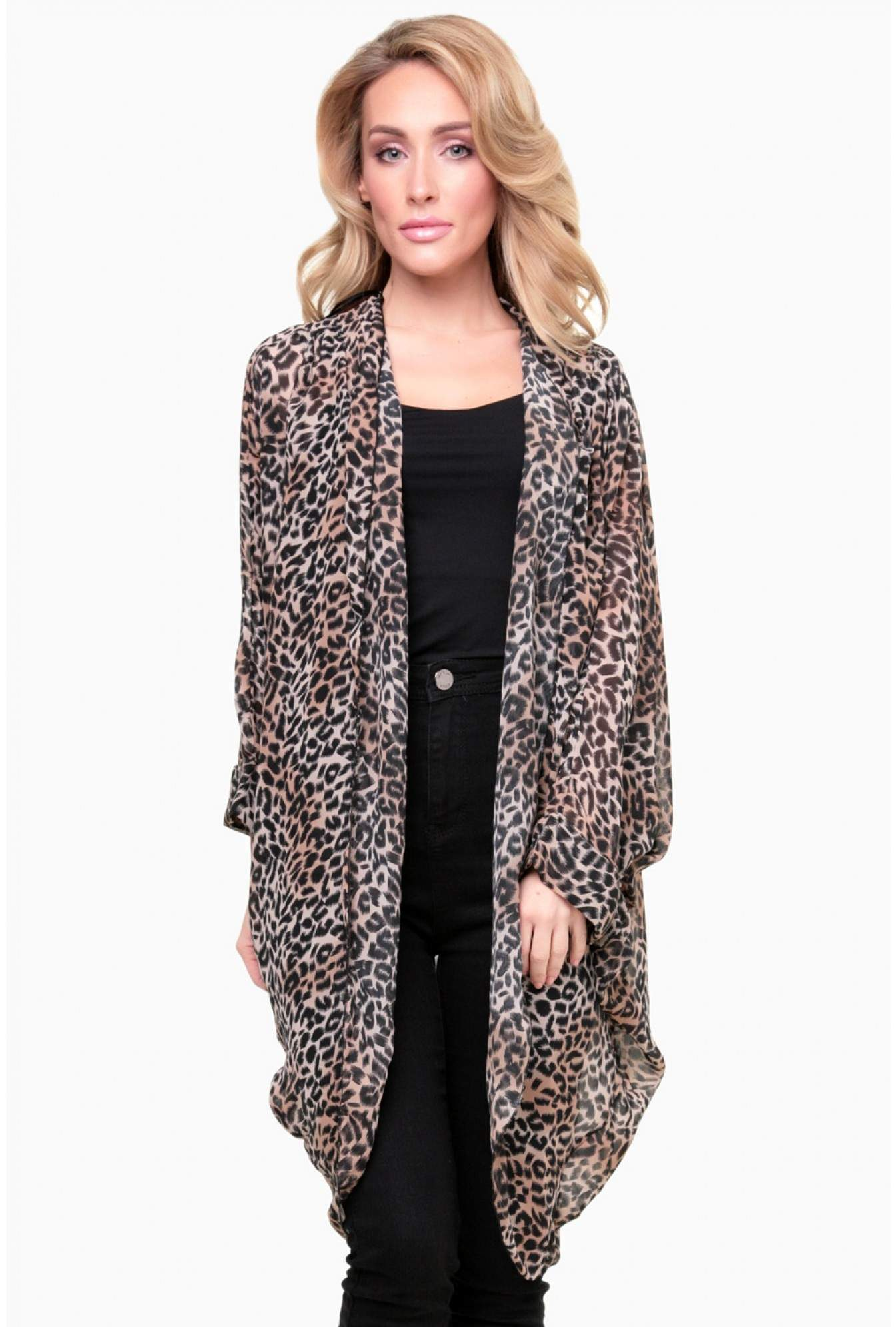 301c716d0b More Views. Katie Leopard Print Kimono Top