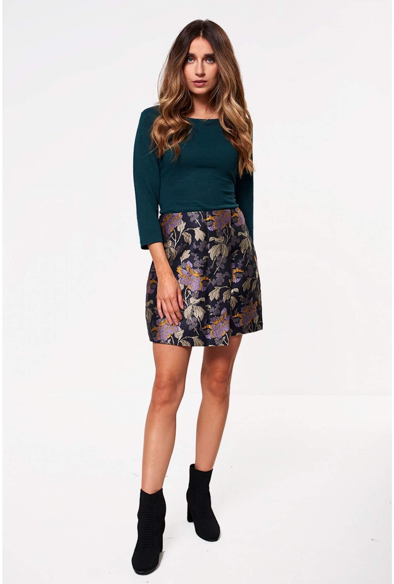 706755d40d5b More Views. Freya Jacquard Short Skirt