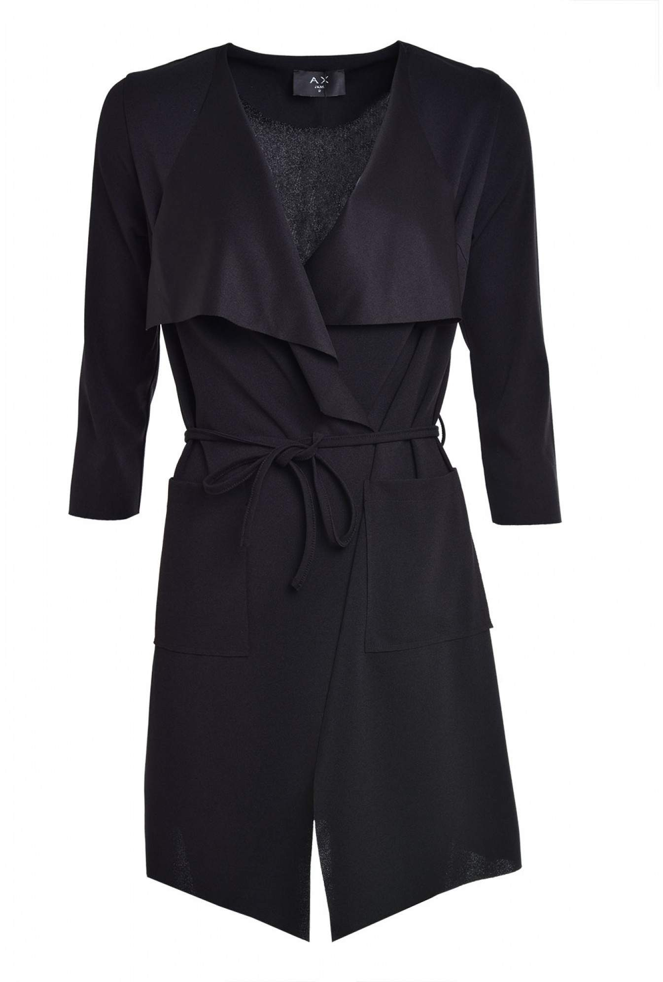 a8a0b8b3d More Views. Susie Lightweight Tie Belt Jacket in Black. AX Paris