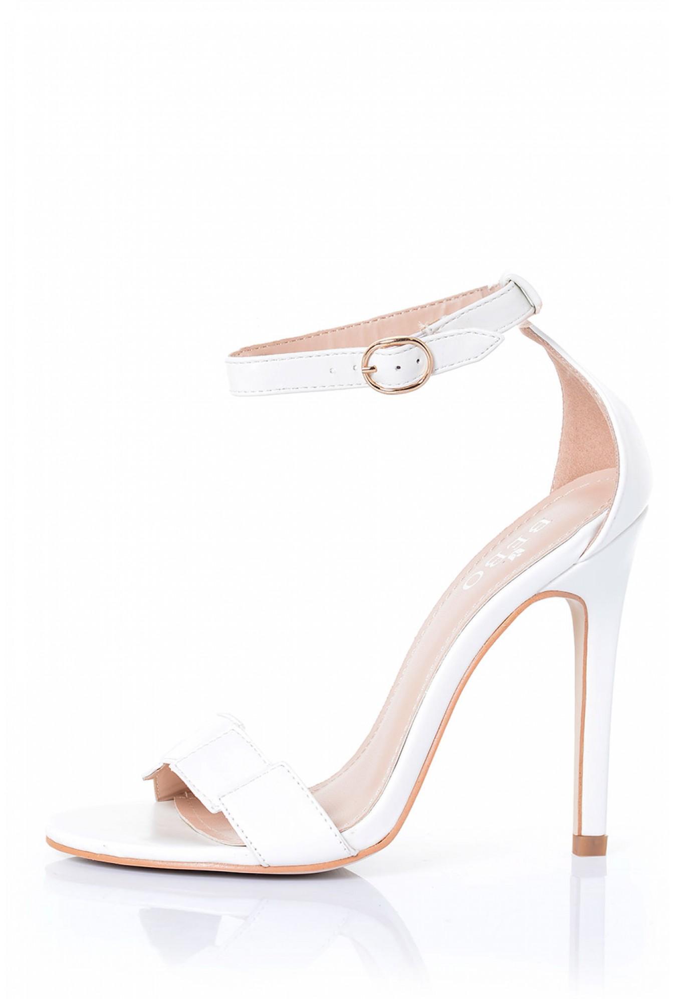 56ecb78eb25a Indigo Footwear Ronny Ankle Strap Sandal in White