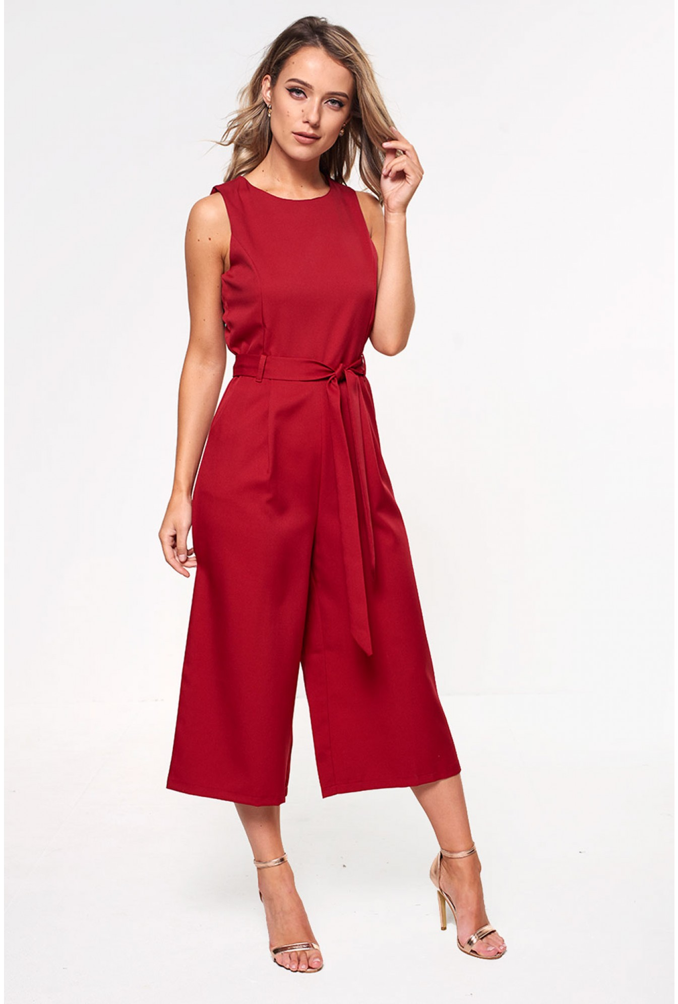 7c7e94e0058 More Views. Layla Longline Culotte Jumpsuit in Wine. Marc Angelo