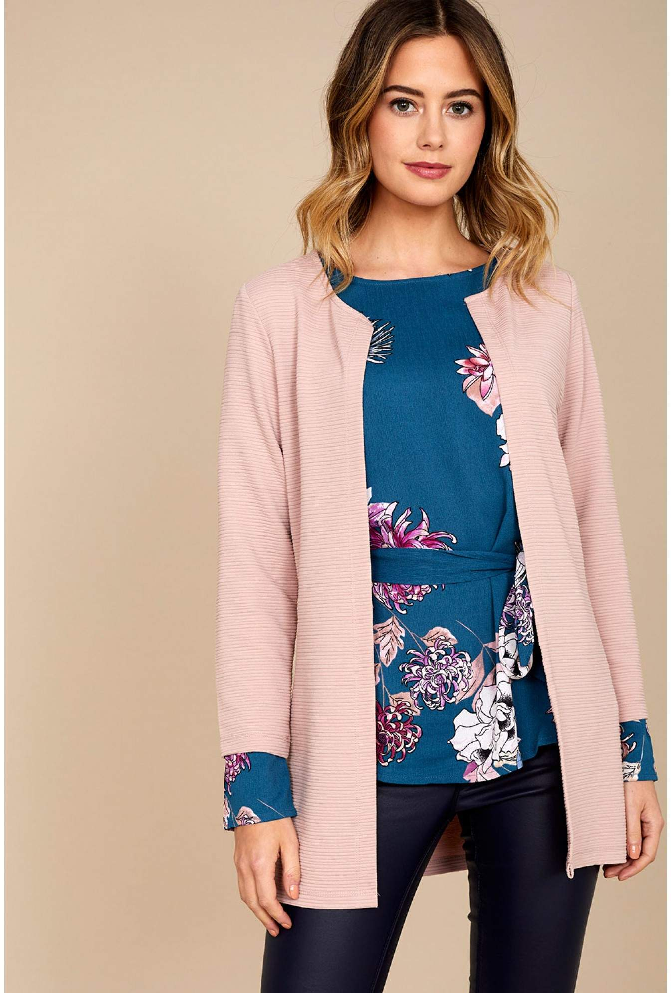 46d710148fcaa1 Only Leco Cardigan in Rose   iCLOTHING