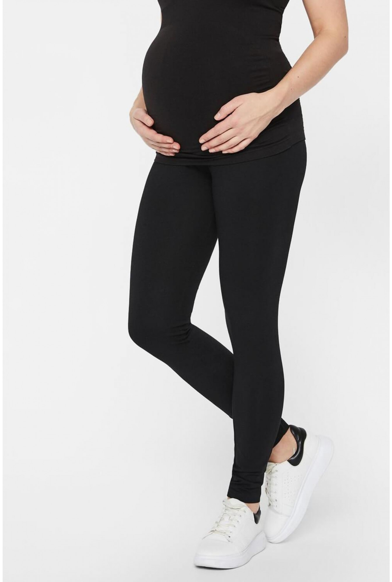 0d35553f1bf More Views. Lea Maternity Organic Cotton Leggings 2 Pack in Black.  Mamalicious