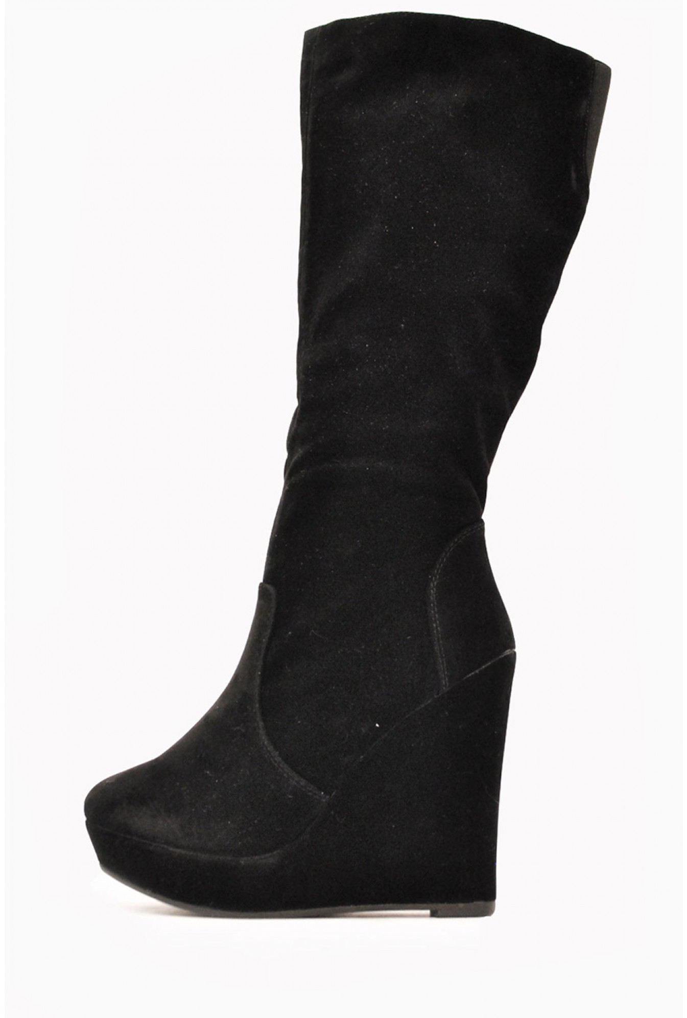 b66913645c05 247 Leslie Knee High Platform Wedge Boots | iCLOTHING