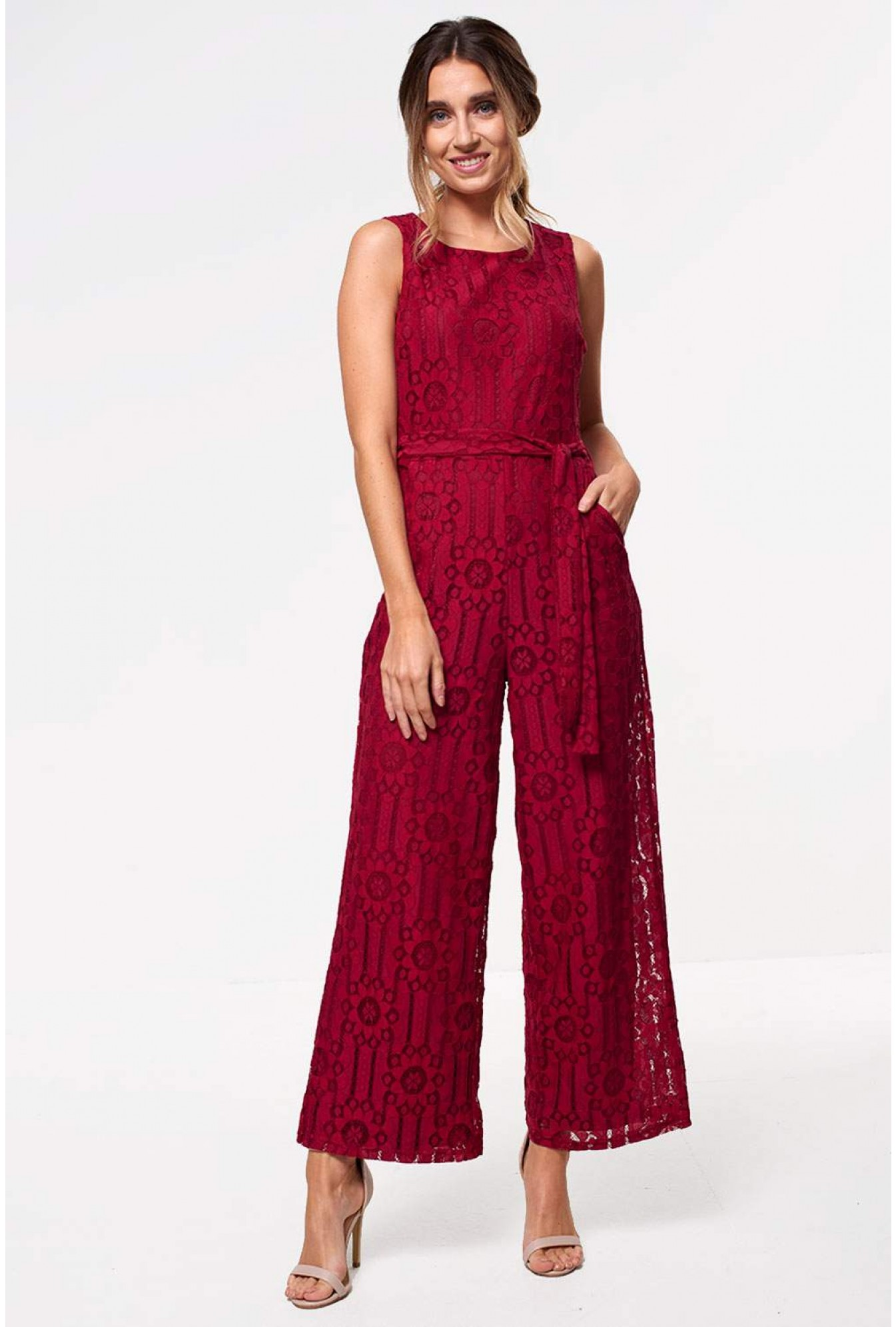 032b3b6b9938 Marc angelo donna occasion crochet jumpsuit in wine iclothing jpg 1345x1992 Wine  jumpsuit