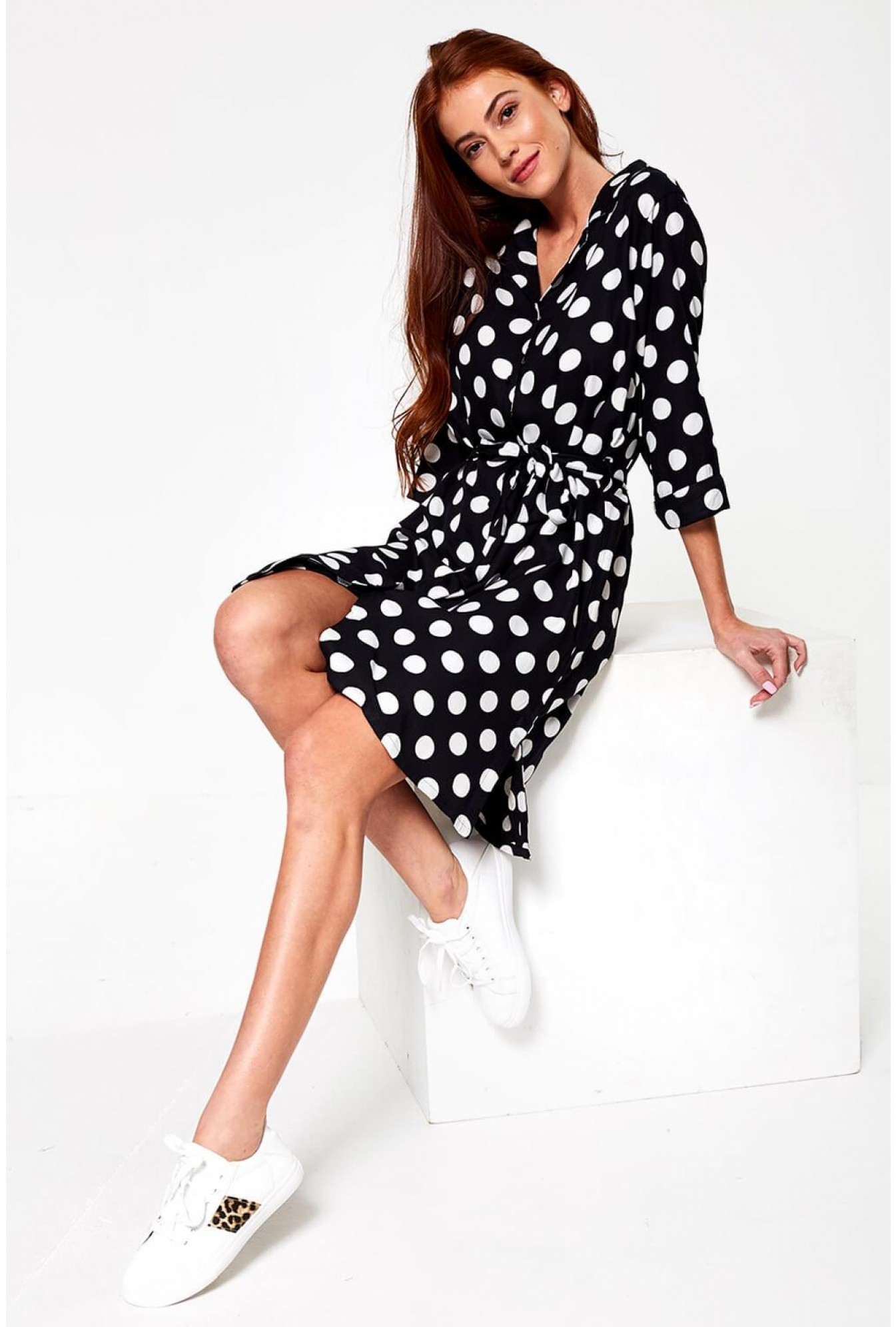 475b825be71 More Views. Igor Polka Dot Shirt Dress ...