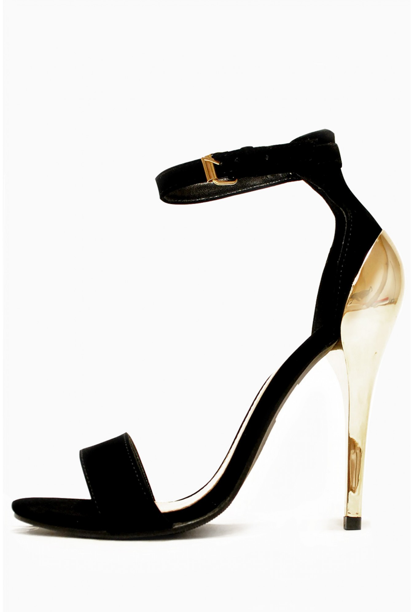 a3c4ef59183 More Views. Paula Strappy Metallic Mid Heels Sandals