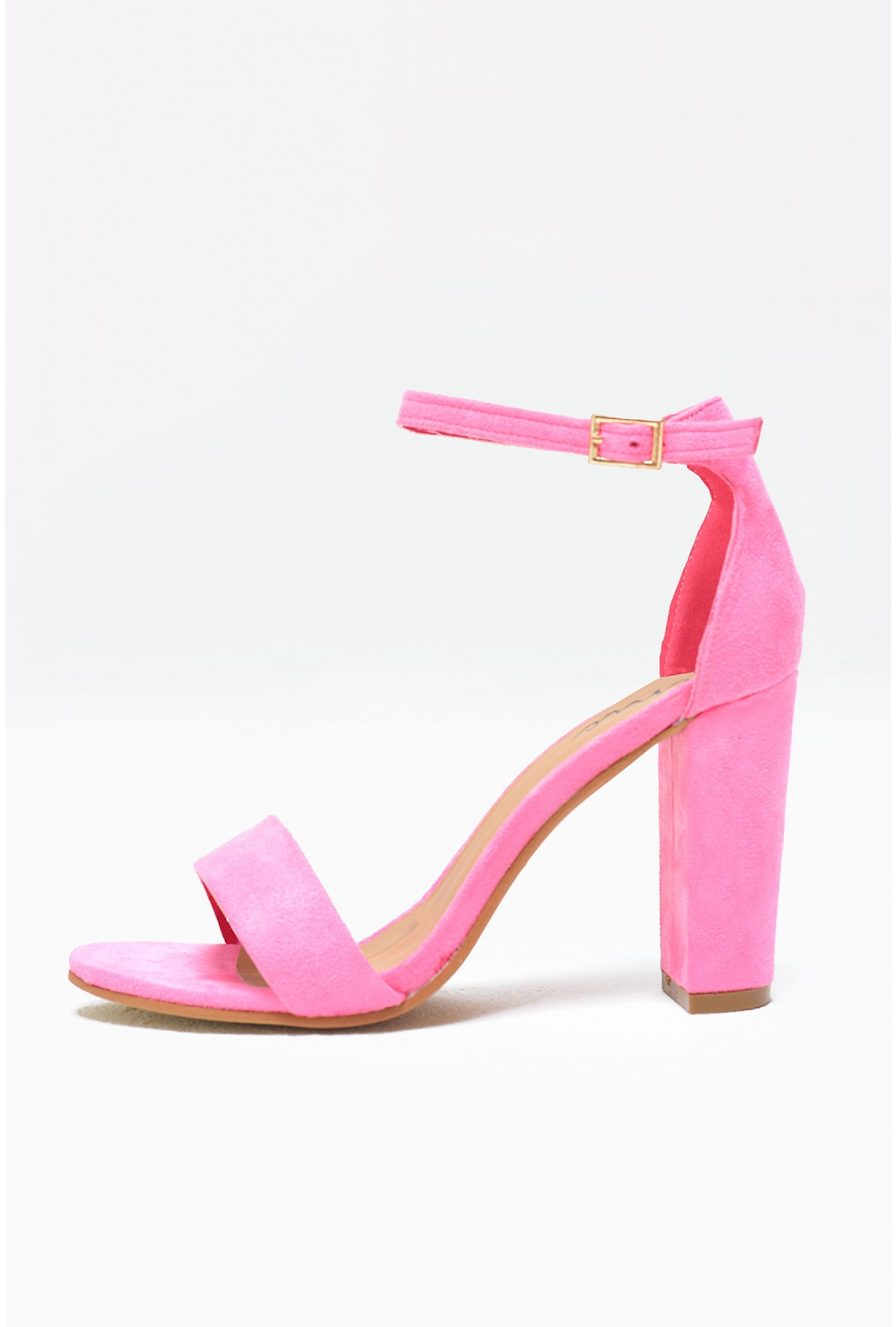 13d31a5d081 Molly Block Heel Sandals in Pink