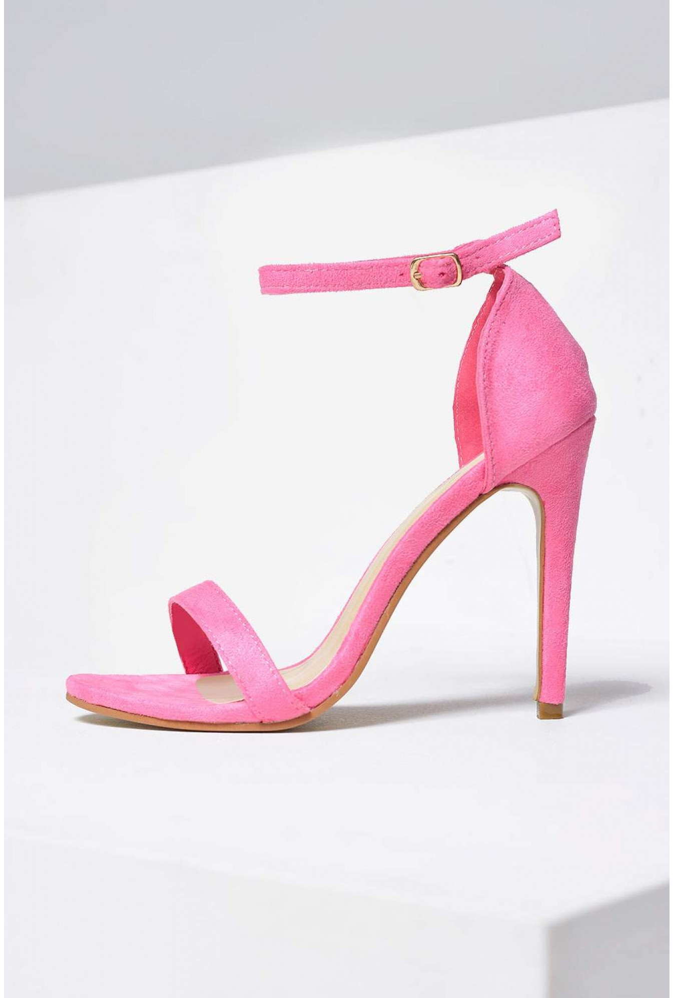 More Views. Holly Ankle Strap Sandals in Pink