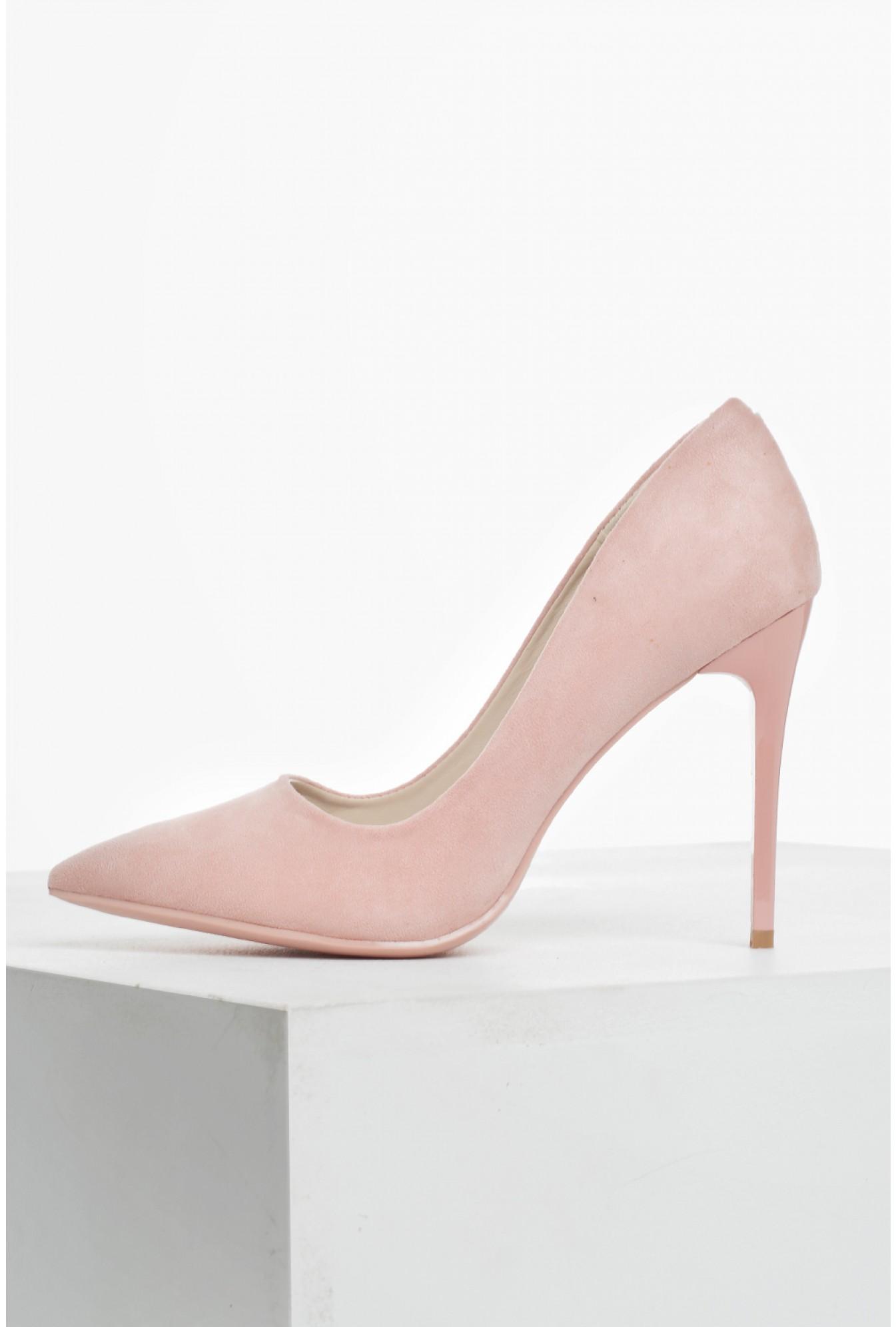 C'M Paris Sarah Suede Court Shoes in