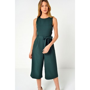 60c0974406bd Marc Angelo Layla Longline Culotte Jumpsuit in Green