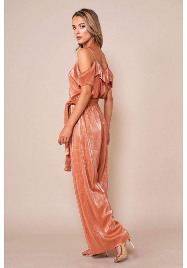 3fab29772963 Parta Cami Tie Jumpsuit in Rose Gold ...