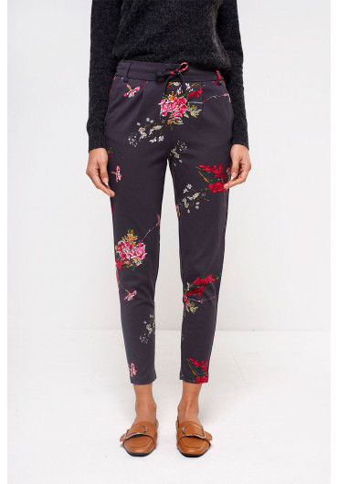cd3f3b5a3eaa70 ... Poptrash Regular Easy Printed Pant in Charcoal
