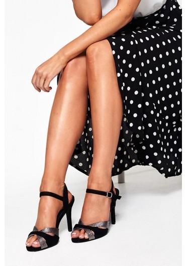 26035ebcc3e Dilara Ankle Strap Sandals in Black ...