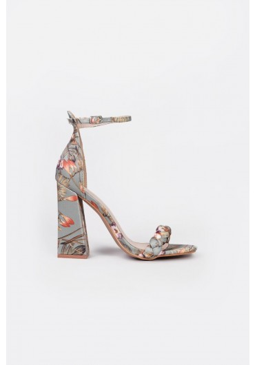 ef29e320d576 ... Althea Block Heeled Sandals in Green Floral Print