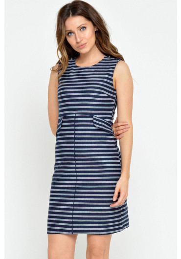 fb16fcf0419 Reese Sailor Dress in Navy Reese Sailor Dress in Navy