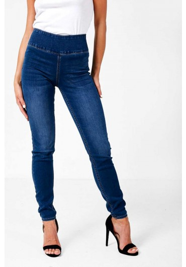 a7d9165f49ffa High Waist Betty Jeggings in Medium Blue ...
