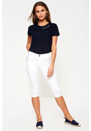 070db53ed06 Rain Cropped Jeans in White ...