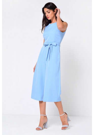 69964a5c1827 ... Layla Longline Culotte Jumpsuit in Sky Blue