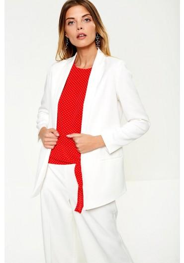 755d4e5bfbff8b ... Palma Occasion Blazer in Off White
