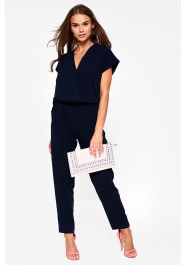 7b9cbdbb480 Clady Relaxed Jumpsuit in Navy Clady Relaxed Jumpsuit in Navy