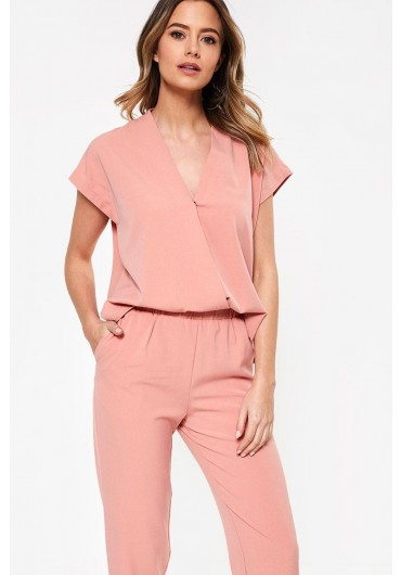 157b0642ea1 Clady Relaxed Jumpsuit in Soft Pink ...