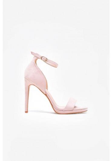 21ffb94170c ... Nelly Ankle Strap Platform Sandals in Beige