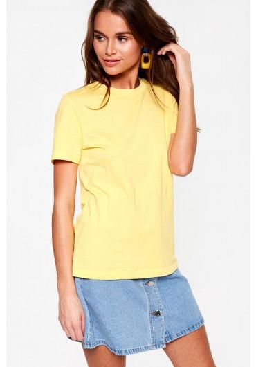 6ba4589400 Classic Short Sleeve T-Shirt in Yellow ...